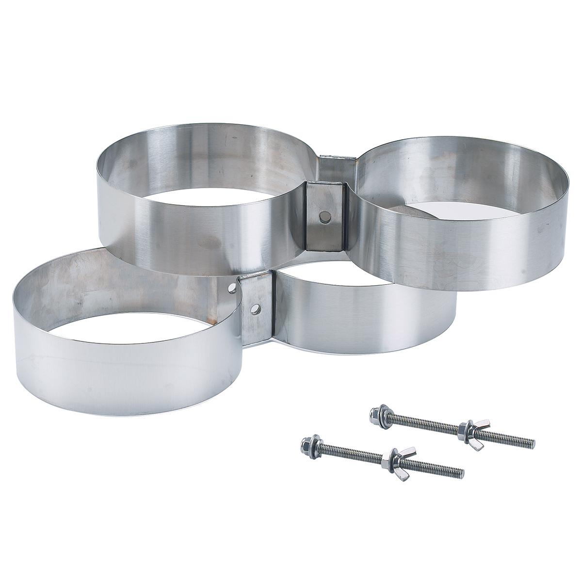 Скоби за сдвояване на водолазни бутилки 171 / 30 мм – BTS
