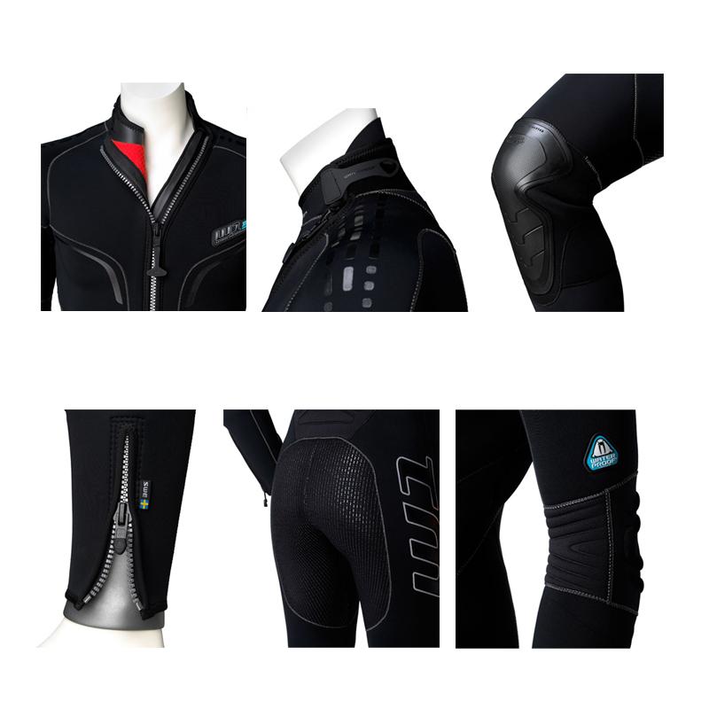 Дамски водолазен неопренов костюм W1 Lady 5 мм - Waterproof
