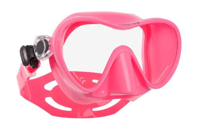 Водолазна маска без рамка TRINIDAD 3 Pink - Scubapro