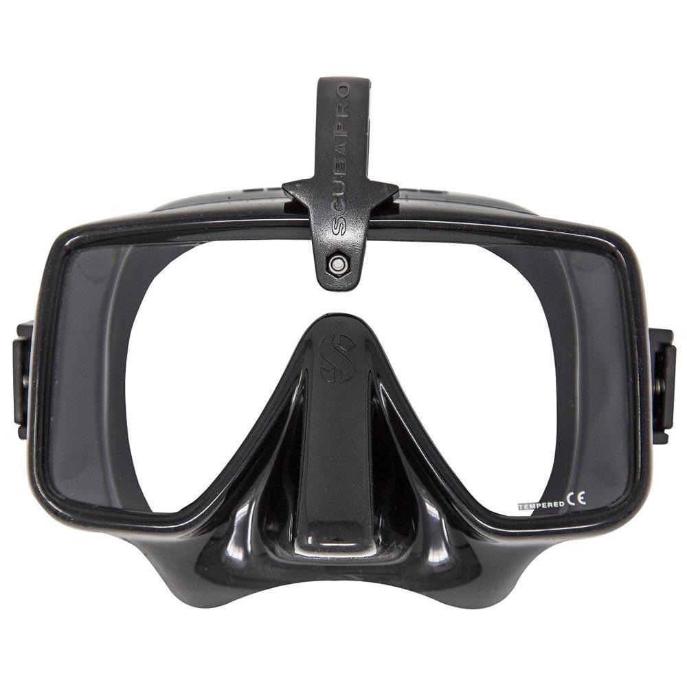 Водолазна маска без рамка FRAMELESS Black с HUD съпорт – Scubapro