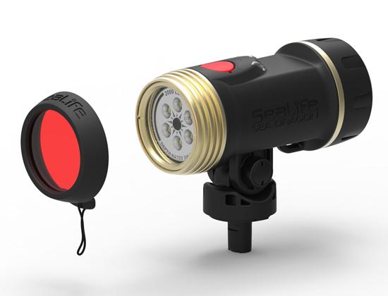 Червен филтър за осветленията SEA DRAGON - SeaLife
