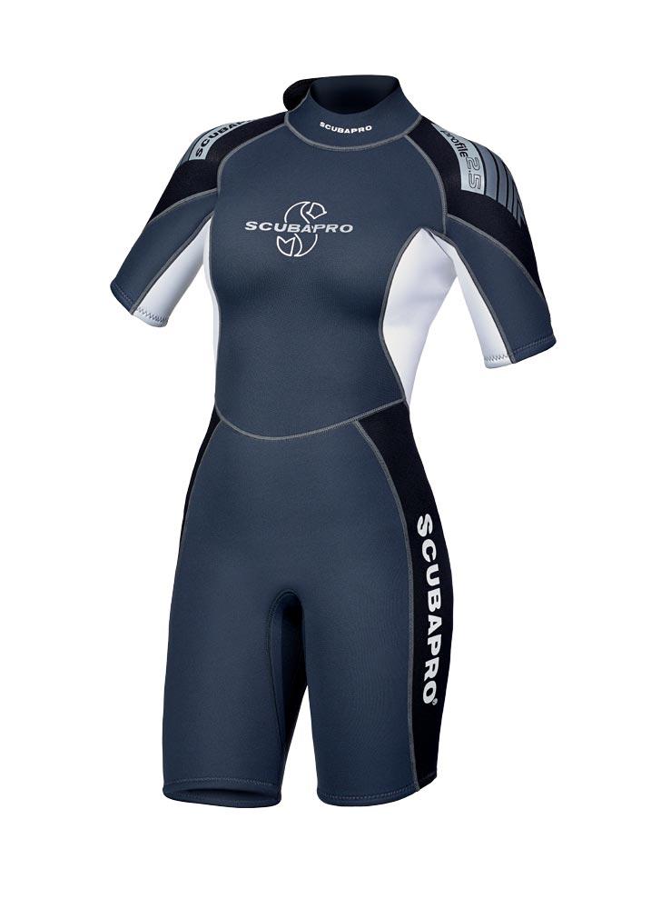 Дамски къс водолазен костюм PROFILE SHORTY Lady 2.5мм - Scubapro