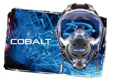 Целолицева водолазна маска NEPTUNE SPACE G.Divers Cobalt – Ocean Reef