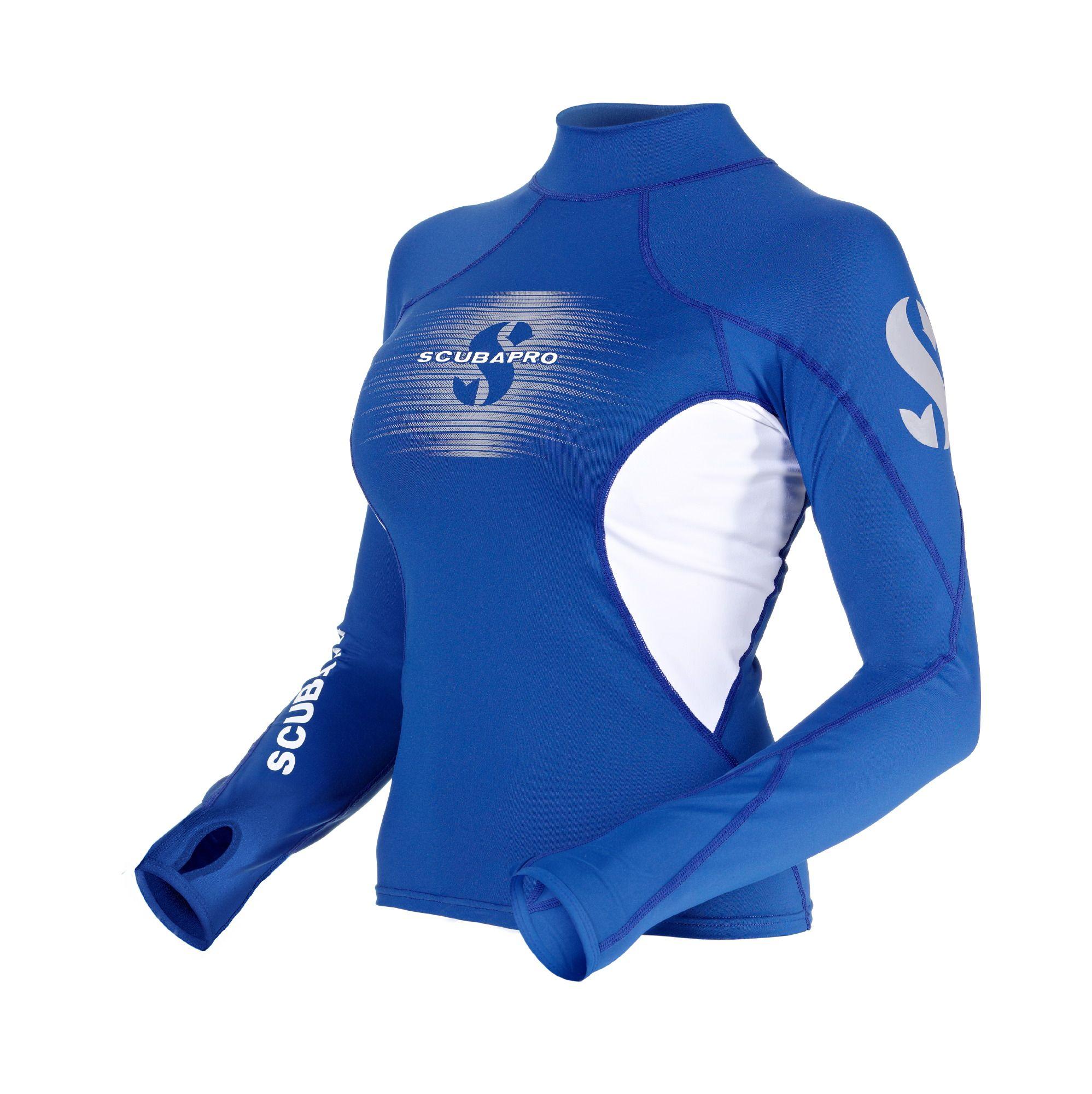 Ликра за водни спортове T-FLEX Lady LS Blue – Scubapro