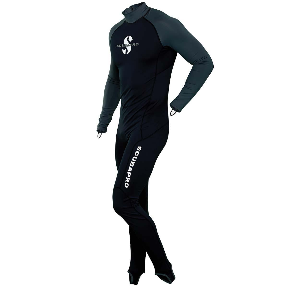 Мъжки водолазен костюм от ликра с UV защита STEAMER GRAPHITE Man - Scubapro
