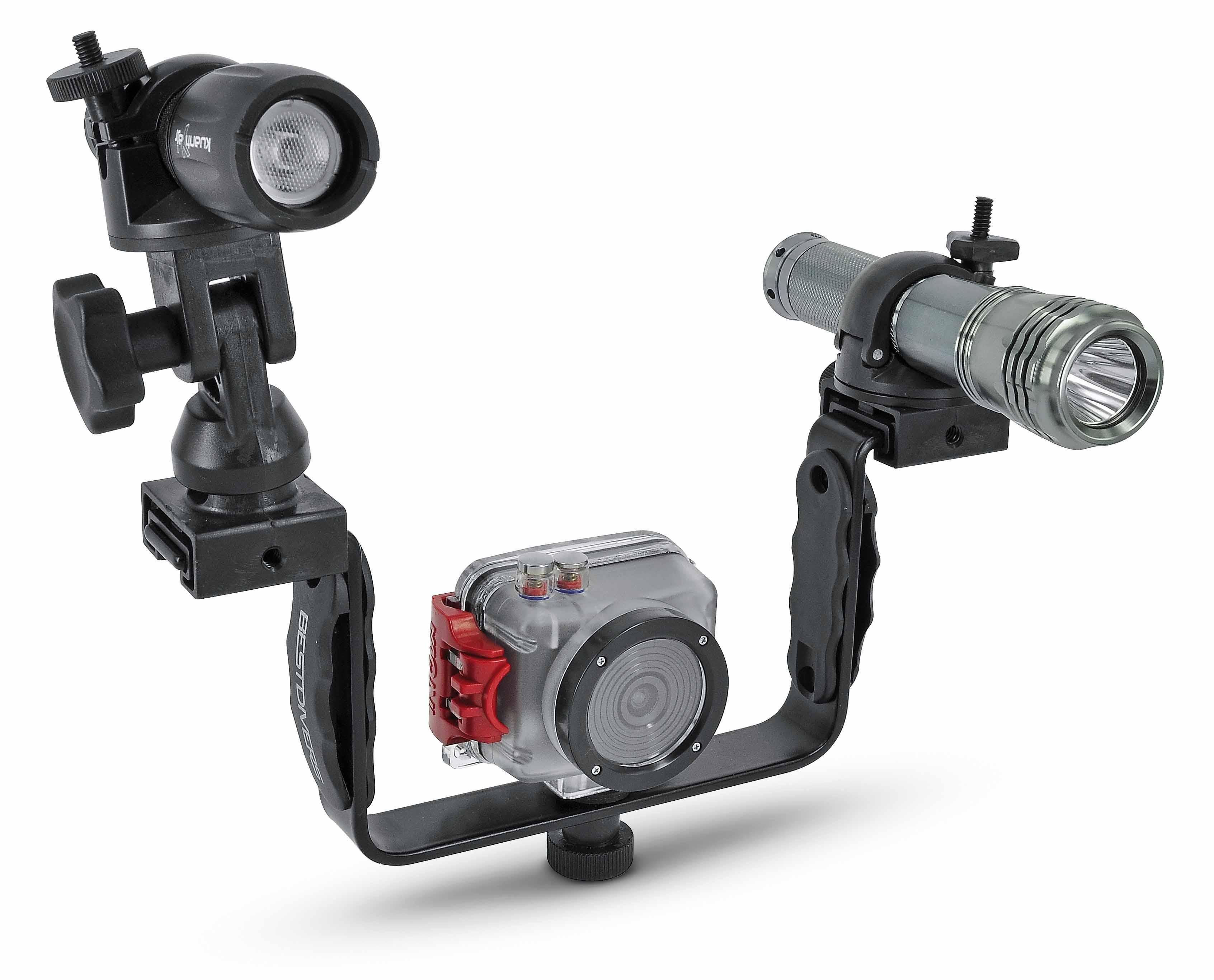 Адаптор за монтаж на светкавица или фенер – Bestdivers
