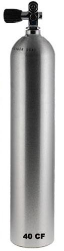 Алуминиева водолазна бутилка Luxfer S040 / 5,7 л / 200 бара - Luxfer