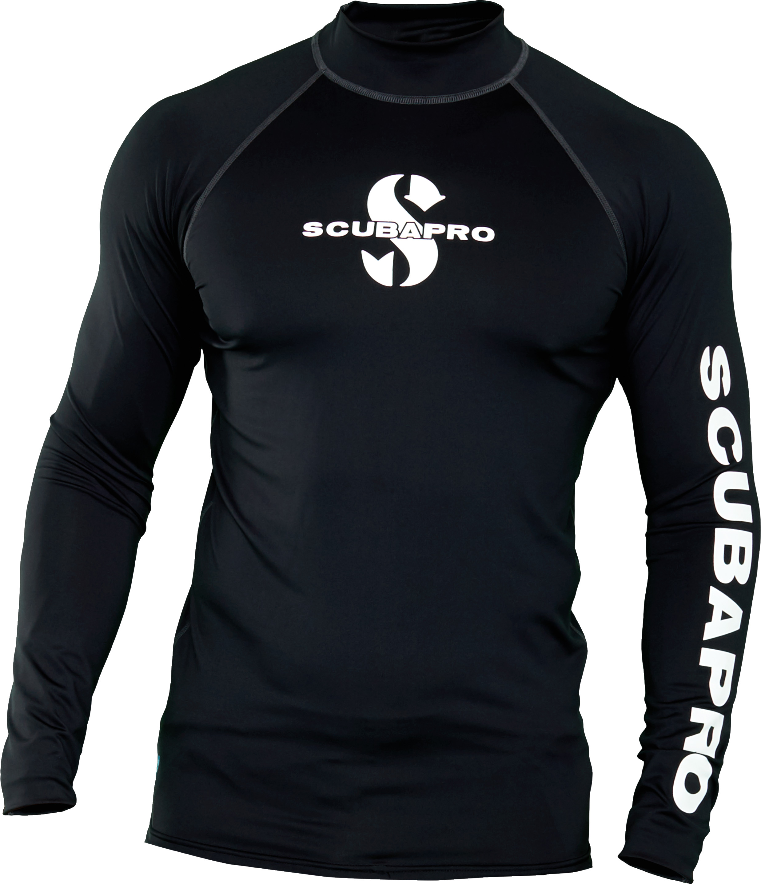 Мъжка ликра с UV защита RASH GUARD BLACK LS Man – Scubapro