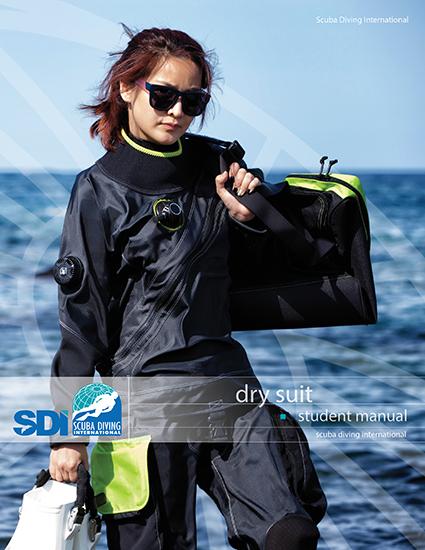 SDI Dry Suit / English - учебник на англииски език