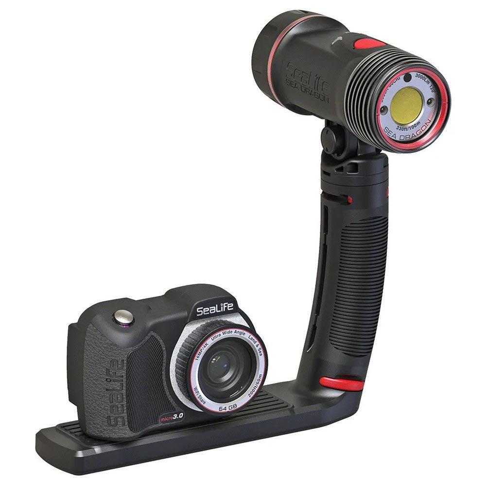 Комплект подводна фото-видео камера с подводно осветление MICRO 3.0 PRO 3000 AUTO - SeaLife