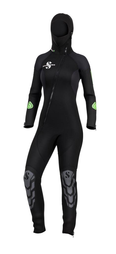 Дамски неопренов водолазен костюм ONEFLEX HOODED Lady 7 мм - Scubapro