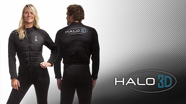 Мъжко термобельо за сух водолазен костюм HALO 3D - Fourth Element