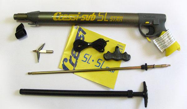 Пневматичен харпун Cressi SL 70 с редуктор - Cressi