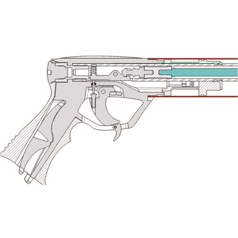 Пневматичен харпун Cressi SAETTA 55 с редуктор - Cressi