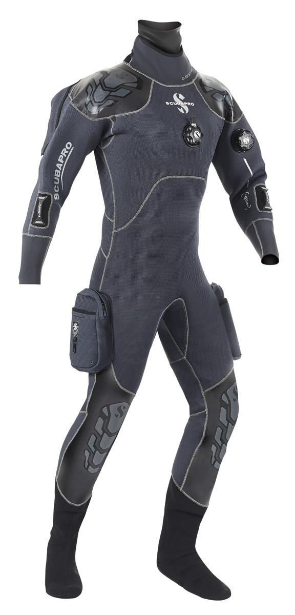 Сух водолазен костюм от компресиран неопрен EVERDRY 4 PRO 4 мм – Scubapro