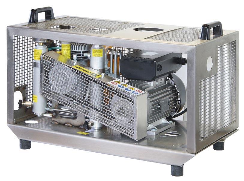 Електрически портативен водолазен компресор MCH 6 EM COMPACT 232 бара / 300 бара – Coltri
