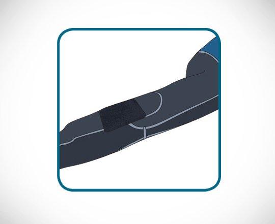 Лепяща се лента за ремонт на скъсани участъци при неопренови водолазни костюми IRON MEND – McNETT