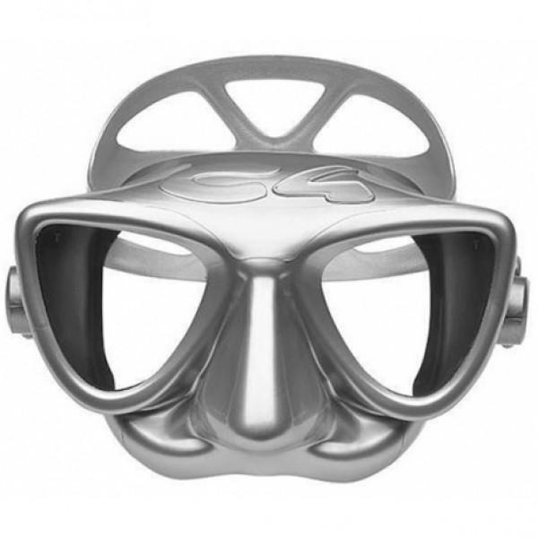 Маска за подводен риболов и фриидайвинг PLASMA Silver – C4