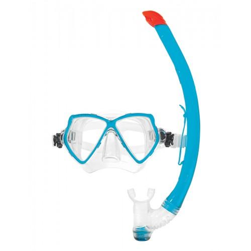 Комплект водолазна маска и шнорхел PANTAI COMBO SET Turquoise - Scubapro