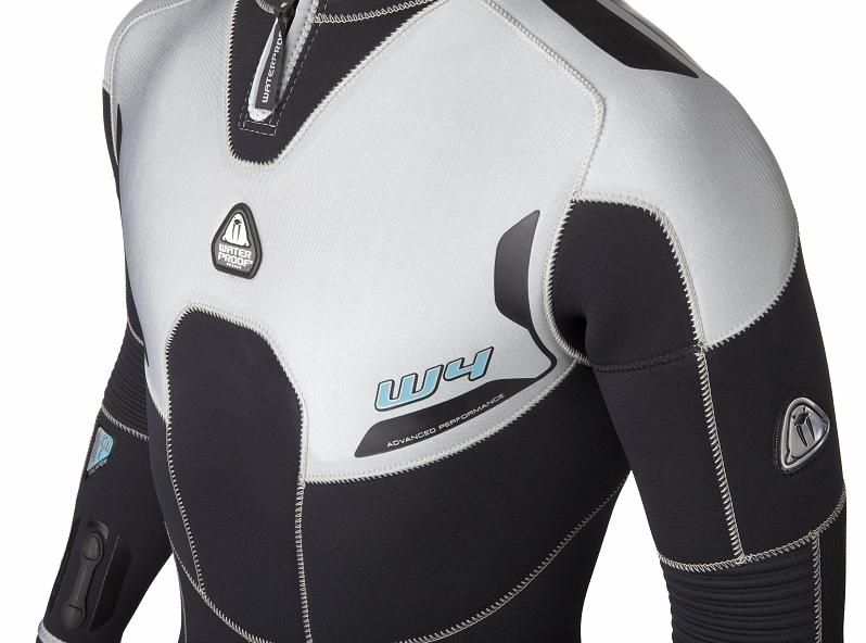 Мъжки водолазен неопренов костюм W4 Man 5 мм - Waterproof
