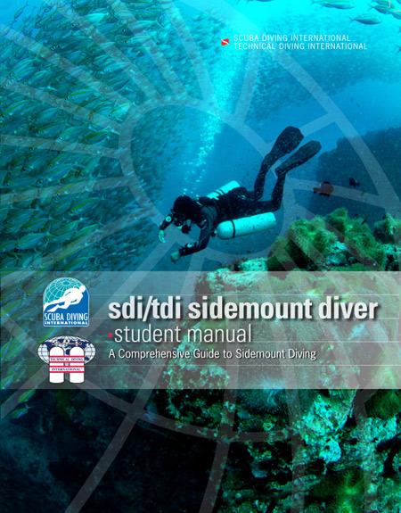 SDI / TDI Sidemount Diver / English - учебник на англииски език