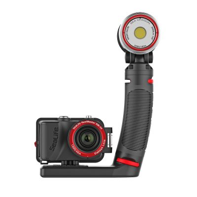 Комплект подводна екшън фото-видео камера и осветление REEFMASTER RM-4K PRO 2000F SET - SeaLife