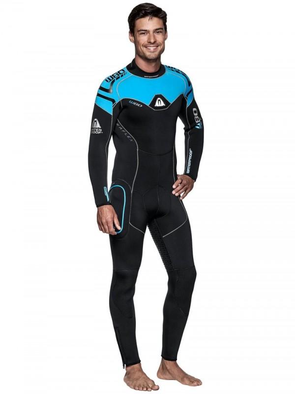 Мъжки неопренов водолазен костюм W80 Man 8 мм - Waterproof