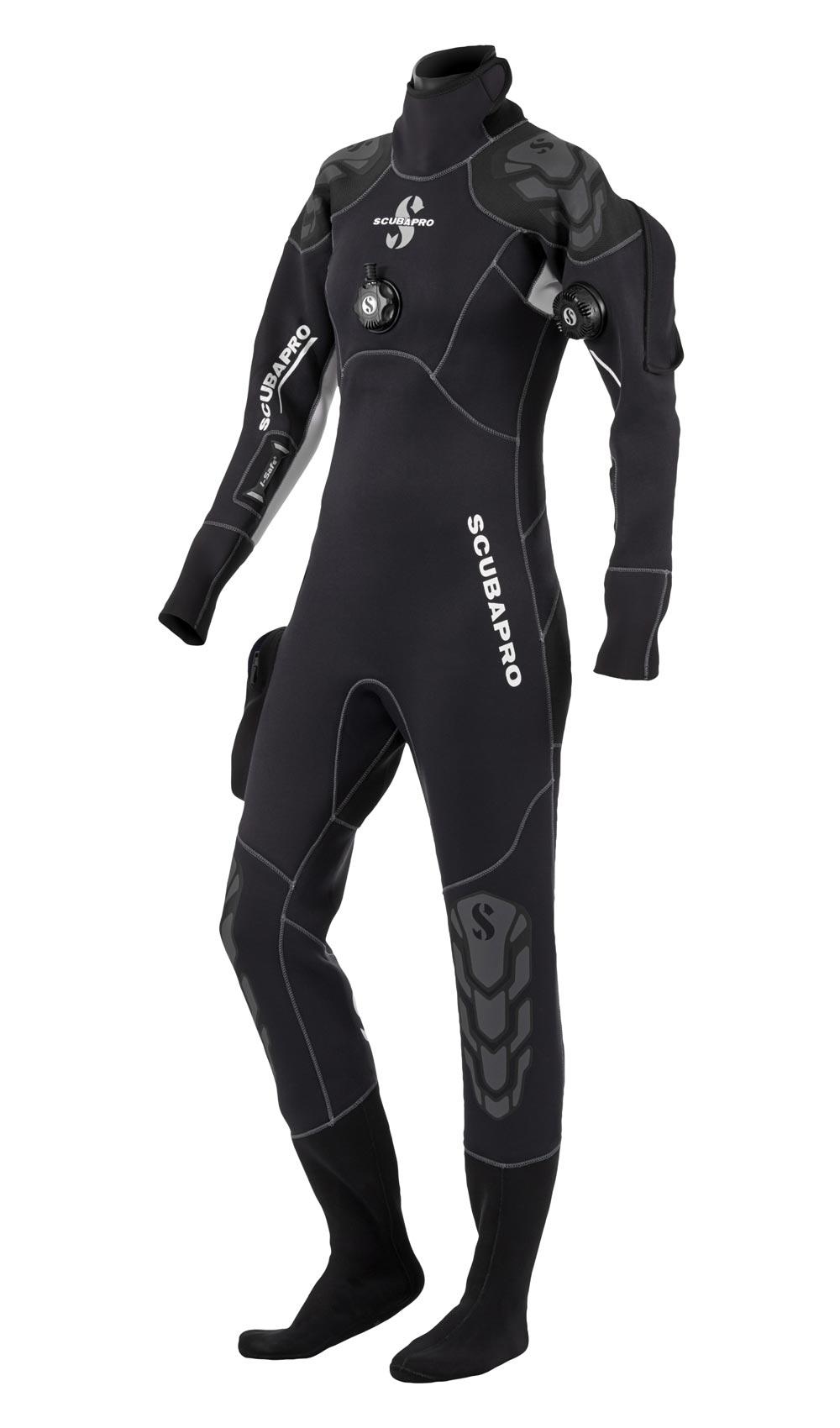 Сух водолазен костюм от компресиран неопрен EVERDRY Lady 4 мм - Scubapro