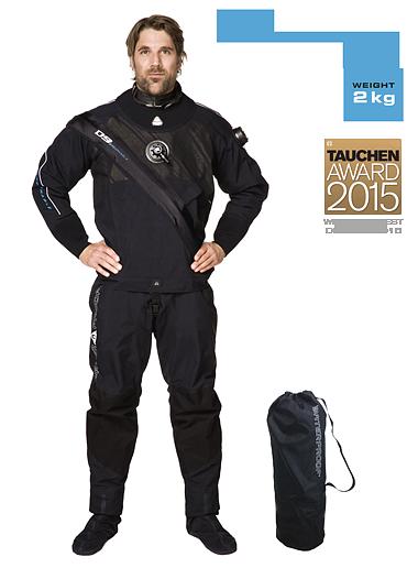 Водолазен сух костюм D9 BREATHABLE - Waterproof