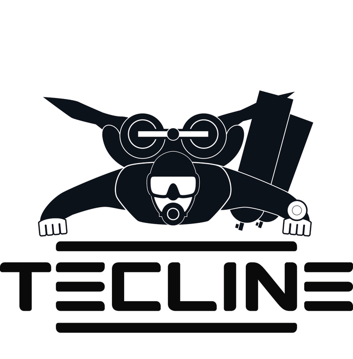 Водолазен нож за линии и въжета LINE CUTTER - Tecline