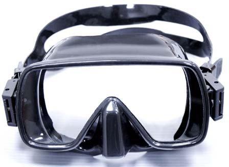 Водолазна маска без рамка FRAMELESS - Tecline
