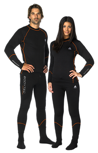 Термобельо за сух водолазен костюм BODYTEC DUAL Layer 520g - Waterproof