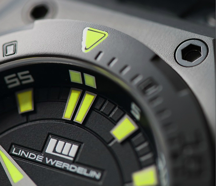 Водолазен часовник The One Hard Black II - Linde Werdelin