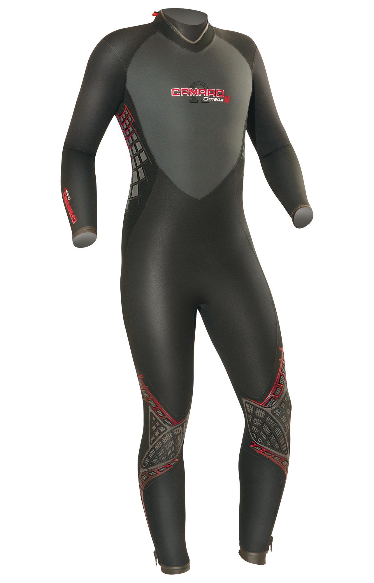Мъжки неопренов водолазен костюм OMEGA Man 5 мм - Camaro