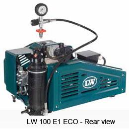 Портативен водолазен компресор LW 100 E1 ECO - L&W