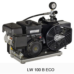 Портативен водолазен компресор LW 100 B ECO - L&W
