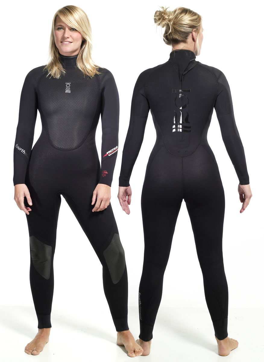 Дамски неопренов водолазен костюм PROTEUS Lady 5 мм - Fourth Element