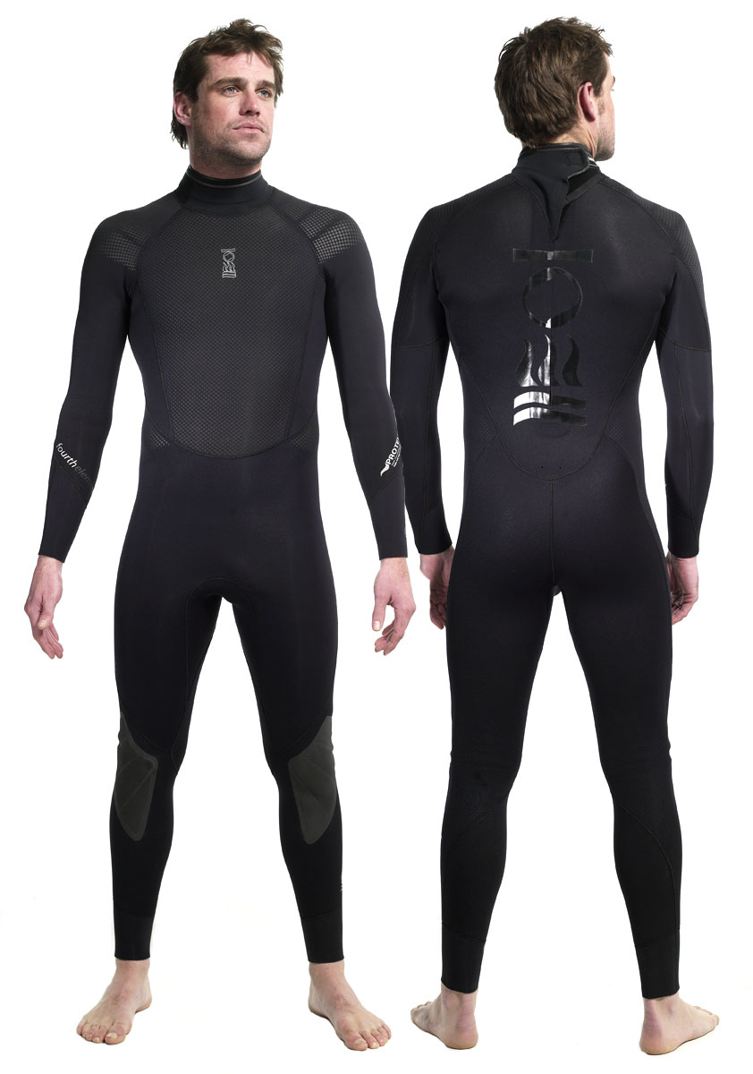 Мъжки неопренов водолазен костюм PROTEUS 5 мм - Fourth Element