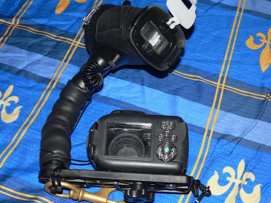 Комплект водолазен фотоапарат - Sealife