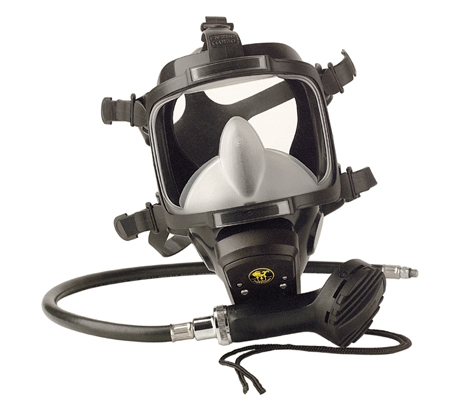 Целолицева водолазна маска Atmosphere + втора степен Jetstream - Poseidon