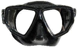 Водолазна маска Black Angel - Sommap