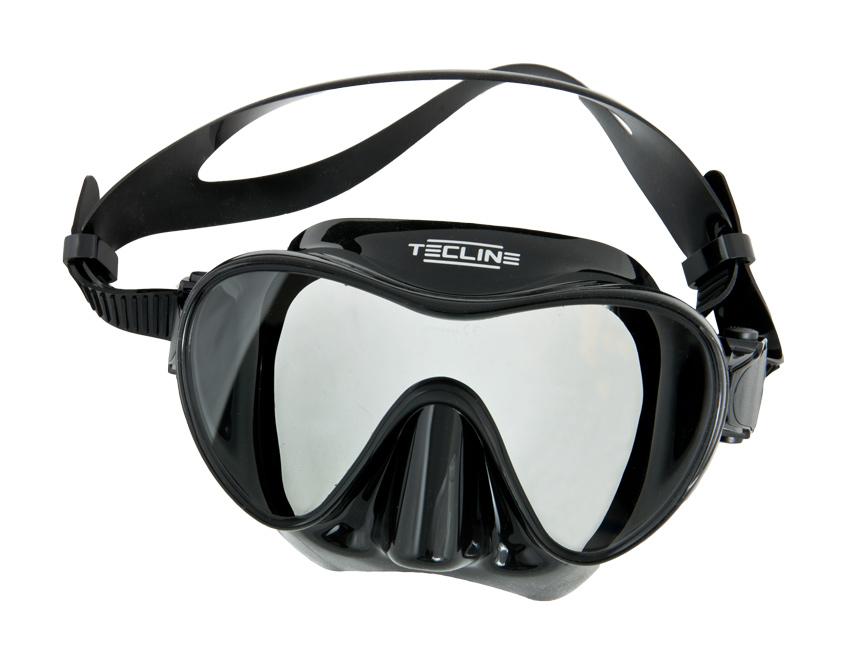 Водолазна маска без рамка с едно стъкло FRAMLESS 2 - Tecline