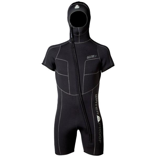 Дамски неопренов водолаен костюм с боне W-SERIES OVERVEST Lady 5 мм - Waterproof