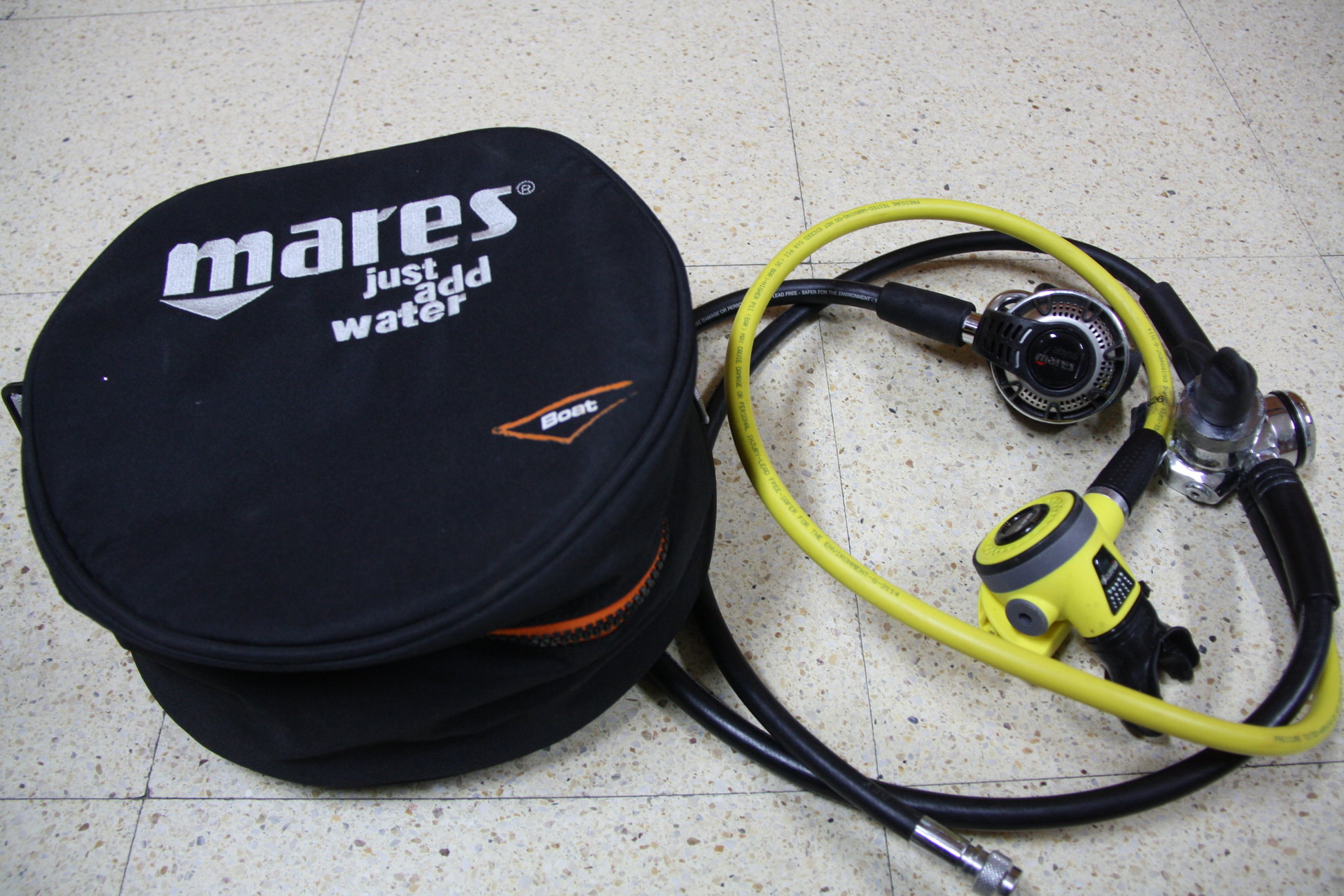 Комплект регулатори Mares Abyss