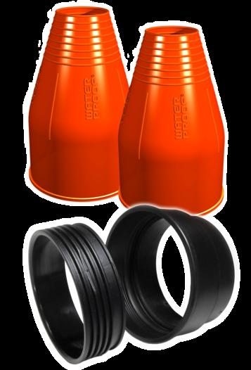 Комплект за бърз монтаж за маншети на ръцете, за сух водолазен костюм ROUND - Waterproof